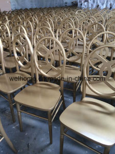 Beech Wood Channel Chair for Wedding/Party pictures & photos