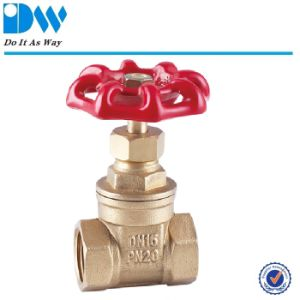 Hot Sales Brass Gate Valve pictures & photos