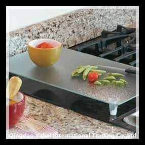 Clear Tempered Glass Cutting Board pictures & photos