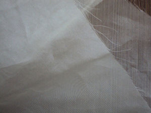 100% Silk /Spun Silk Organza Fabric /Undyed Organza Fabric for Wedding Dress