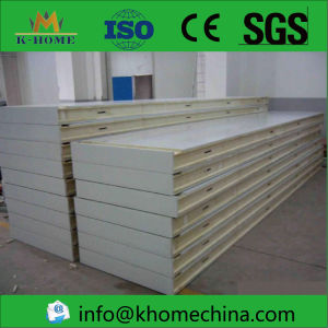 Great Insulation Glass Wool Polyurethane Sandwich Panel with Sealing Side pictures & photos