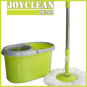Joyclean Floor Cleaner Mops with 2 Microfiber Refills (JN-202) pictures & photos