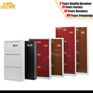 Colored Fashion Style Metal Shoe Cabinet, Shoe Cabinet Use for Home pictures & photos