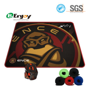 Custom Logo Printing Hot Gaming Mouse Pad with Overlocked Edge pictures & photos