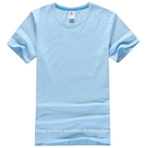 Plain Lycra Wholesale Pre-Shrunk T-Shirt for Men pictures & photos