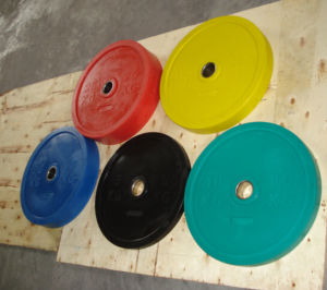 Color Bumper Weight Plate
