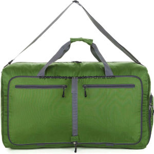 China Manufacture 80L Foldable Travel Duffle Bags Water Tear Resistant Bag pictures & photos