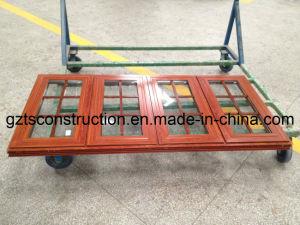 Energy Efficient Aluminium Casement Window with Thermal Broken Profile pictures & photos