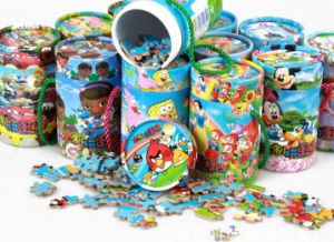 Barrelled Cartoon Printing MDF Jigsaw Puzzle pictures & photos