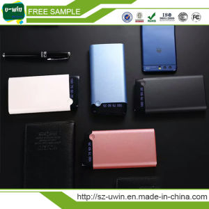 Ultra Thin Charging Power Bank 10000mAh pictures & photos