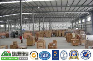 Professional Light Prefabricated Steel Frame Workshop pictures & photos
