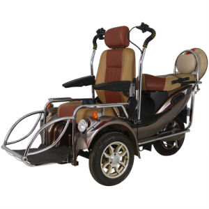 China High Quality Fashion Design Powerful Handicapped Scooter for Elderly Person pictures & photos