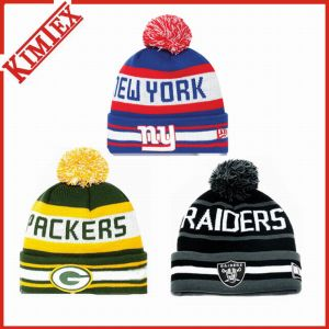Promotional Customs Acrylic Knitted Jacquard Beanie pictures & photos