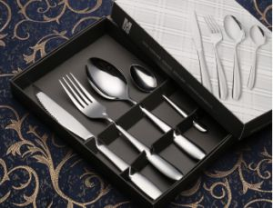 Four-Piece Suit Dinner-Knife Stainless Steel Cutlery Set (C014) pictures & photos