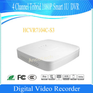 Dahua 4 Channel Tribrid 1080P Smart 1u Surveillance DVR (HCVR7104C-S3) pictures & photos