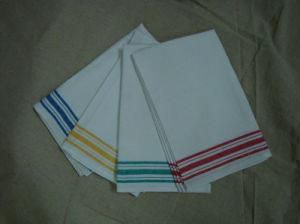 Tea Towel with Color Stripes (TT-003)