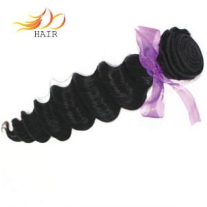 100% Loose Deep Wave Brazilian Virgin Human Hair Extensions pictures & photos