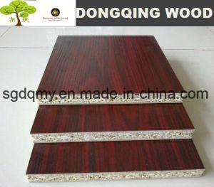 Melamine Laminated Particle Board, China Laminated Chipboard for Bed pictures & photos