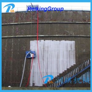 Oil Tank Steel Outer Wall Shot Blasting Machine pictures & photos
