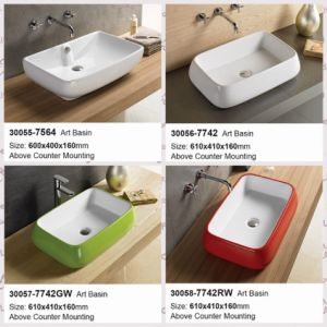 Bathroom Sanitary Ware Furnisure Cearmic Washing Sink (30055-30058) pictures & photos