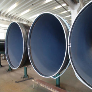 API 3PE Coated Carbon Welded Spiral Steel Pipe for Water Conveyance pictures & photos