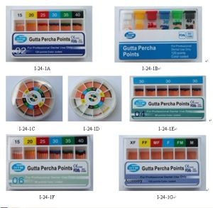 Dental Gutta Percha Absorbent Paper Points pictures & photos