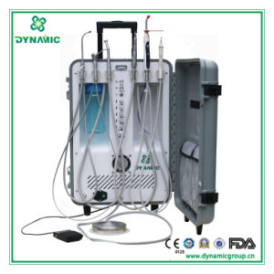 Deluxe Portable Dental Unit with 3-Way Syringe (DU893-2011)