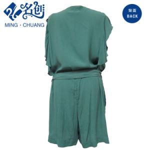 Summer Chiffon Ladies Fashion Casual Pants Jumpsuit pictures & photos