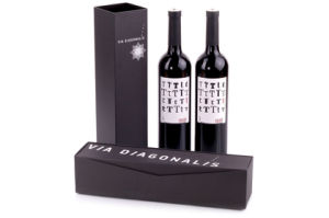 Custom Luxury Rigid Magnetic Closure Gift Packaging Cardboard Wine Box pictures & photos