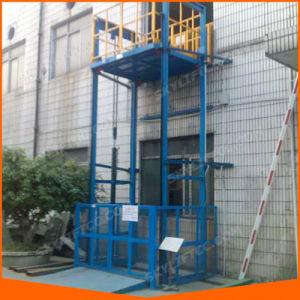 Guide Rail Cargo Lift Platform Warehouse Goods Lift pictures & photos