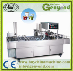 Automatic Cup Filling Sealing Machine pictures & photos