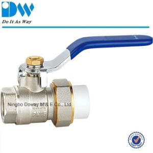 Female PPR Ball Valve with Level Handle pictures & photos