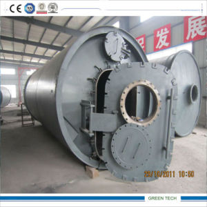 12ton Pyrolysis Plant Recycling Waste Tire to Oil and Carbon Black pictures & photos
