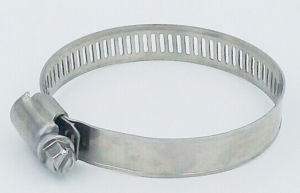 American Type Stainless Steel Hose Clamp (Band width: 8mm & 12.7mm) pictures & photos