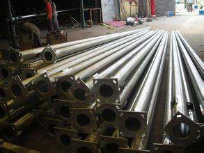 Customed Straight Seam Welding Light Pole with High Quality pictures & photos