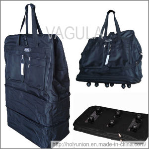 "VAGULA 40"" Rolling Wheeled Duffle Bag Spinner Suitcase Expandable Luggage pictures & photos"