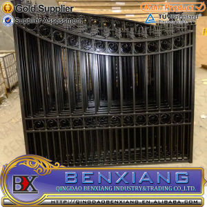 House Gate Iron Main Gate Power Coating Iron Gates pictures & photos