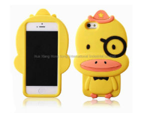 Rubber Duck Silicone for iPhone Case