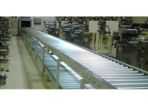Line 3 of Logistics Roller Conveyor pictures & photos