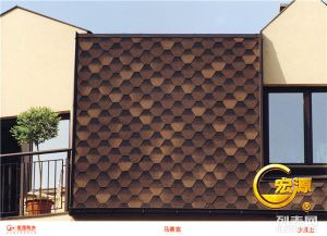 Hexagonal Asphalt Roofing Shingles pictures & photos