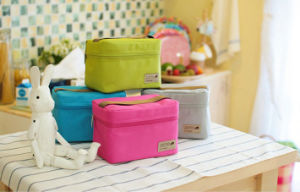 Promotional Can Cooler Bag& Polyester Cooler Tote Bag for Picnic pictures & photos