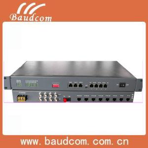 30 Voice Pots (FXO/FXS) Fiber Multiplexer