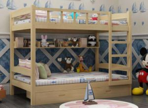 Solid Wooden Bed Room Bunk Beds (M-X2222) pictures & photos
