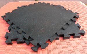 Gym Equipment Rubber Mat, Interlocking Gym Floors, Gym Flooring Mat pictures & photos