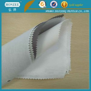 Resin Bleached Interlining Manufacturer Used for Collar pictures & photos