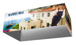 Rectangular Fabric Display Banner Stand Exhibition Booth Hanging Sign (GC-RS) pictures & photos