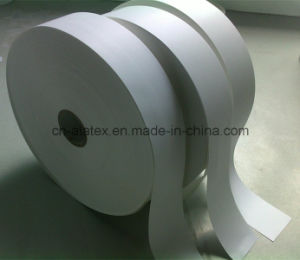 Nylon Taffeta Label for Thermal Transfer Printing pictures & photos