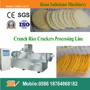 Rice Cake Chips Snacks Making Machine (SLG85) pictures & photos