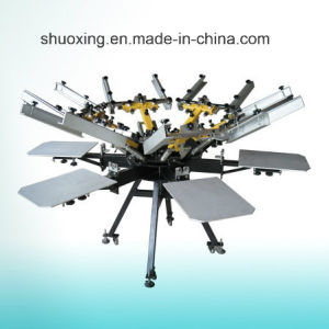 Manual Carousel Silk Screen Printing Machine pictures & photos