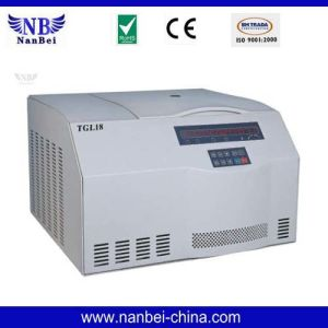 Tgl18 Table Top High Speed Refrigerated Centrifuge pictures & photos